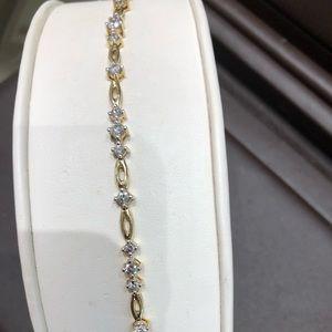 Jewelry - 14K Diamond Bracelet